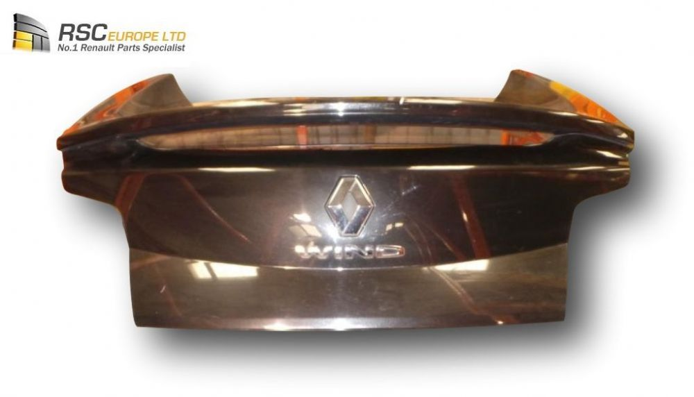 RENAULT WIND 2011 REAR TAILGATE / BOOTLID IN BLACK